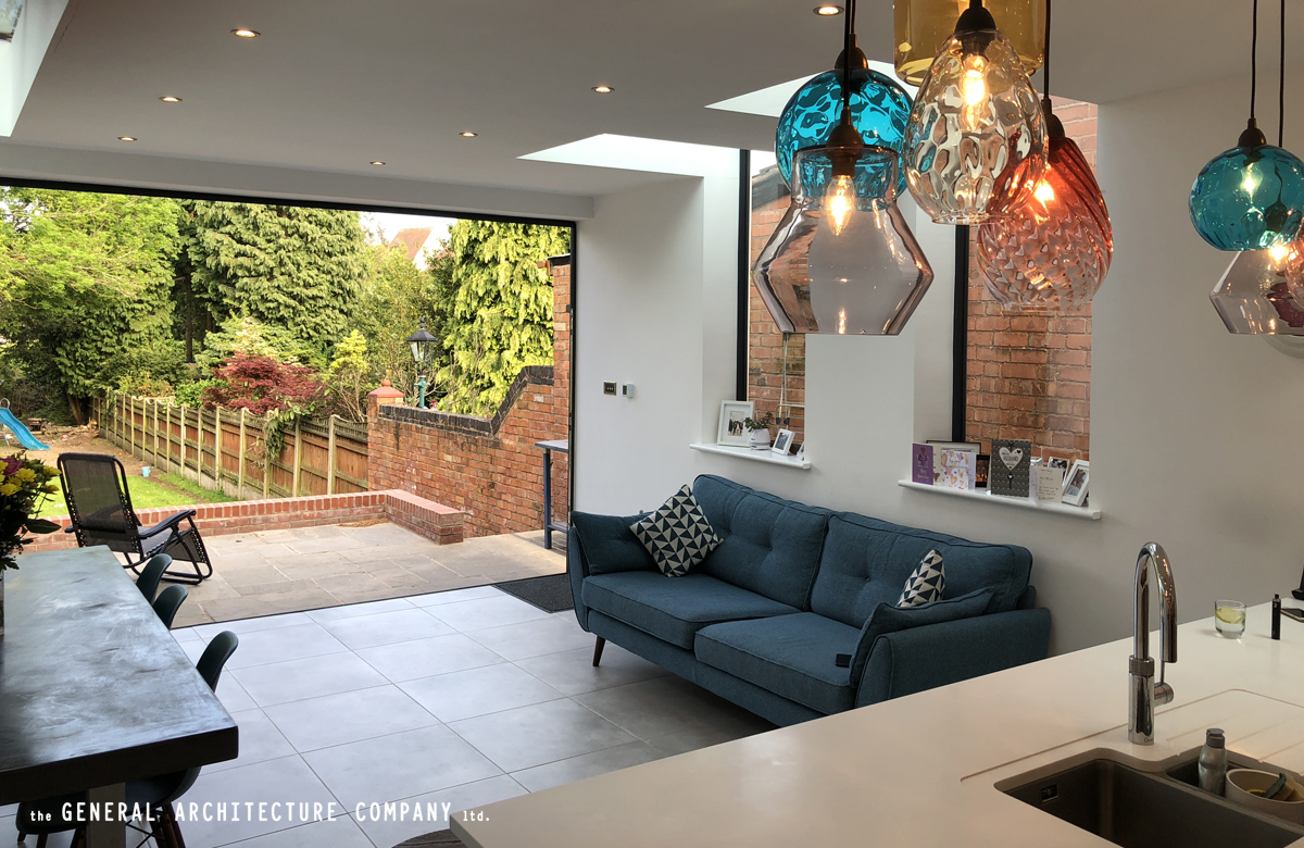 Beautiful Side Return Extension To A Large Victorian Property