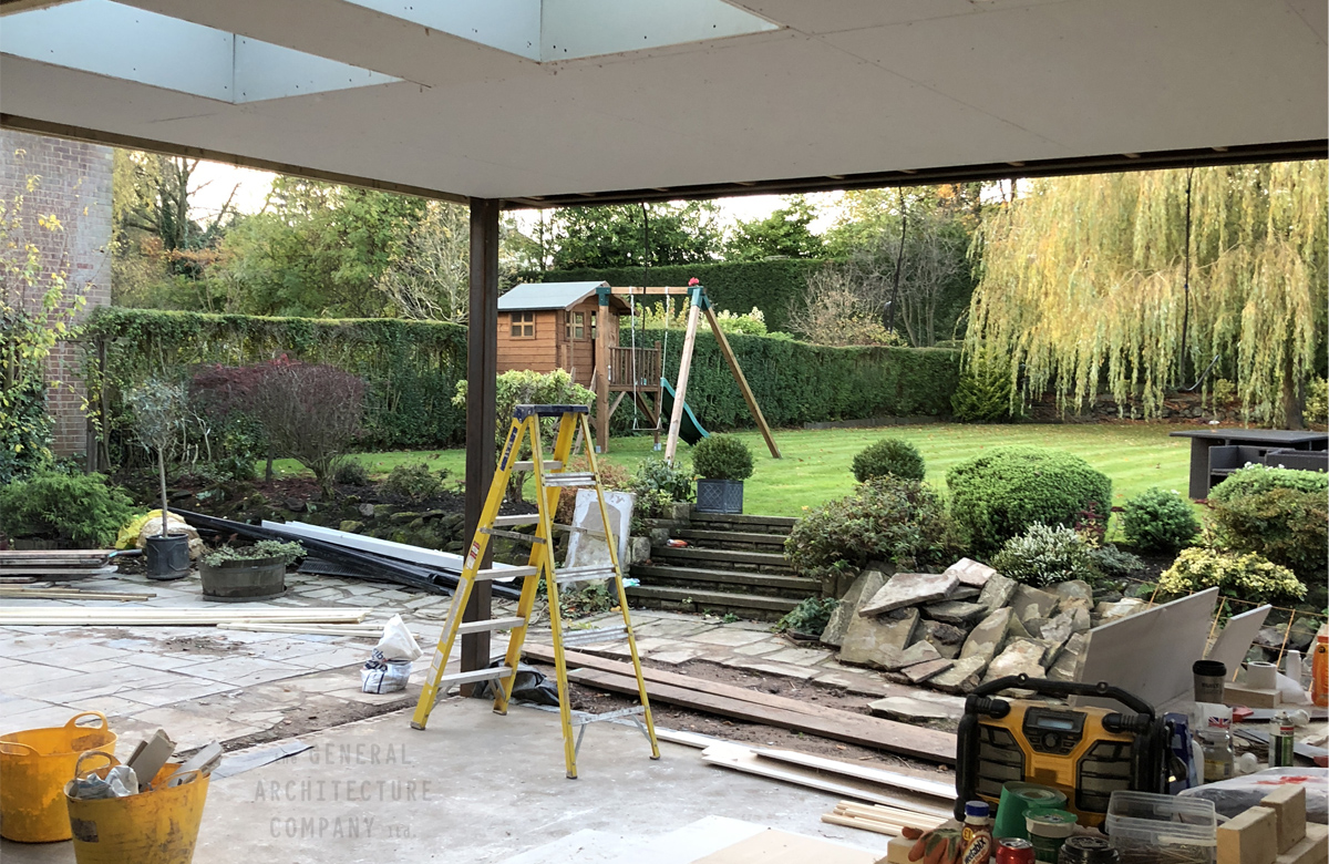 Continued… Re-Working Of A Large Detached Property In Harborne