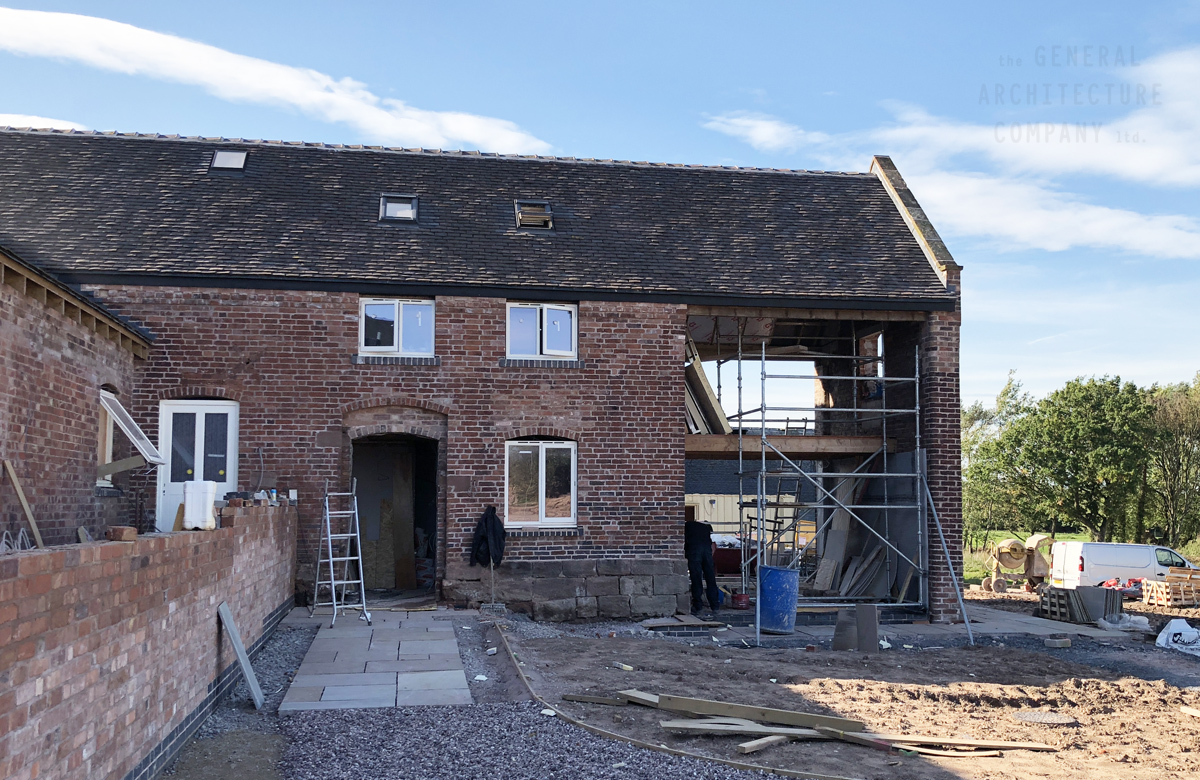 Dramatic Barn Conversion Taking Shape In Eccleshall