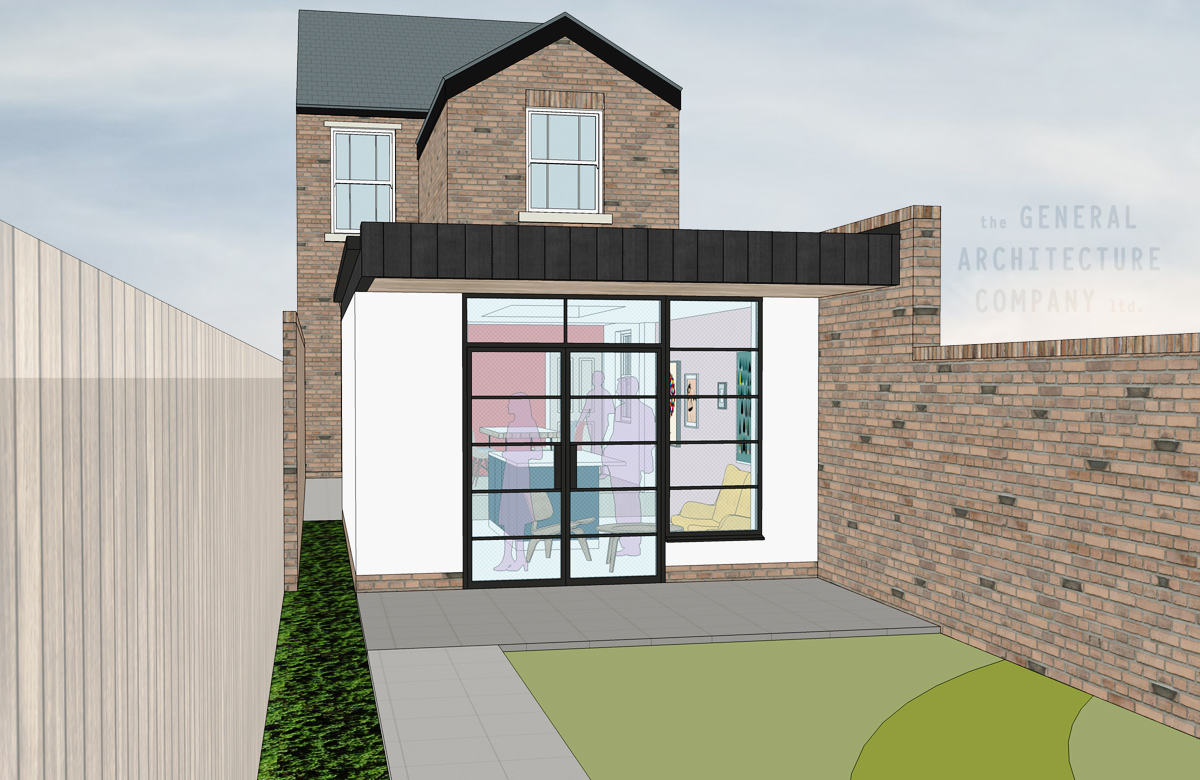 Planning Approval For A Cute Extension In Harborne