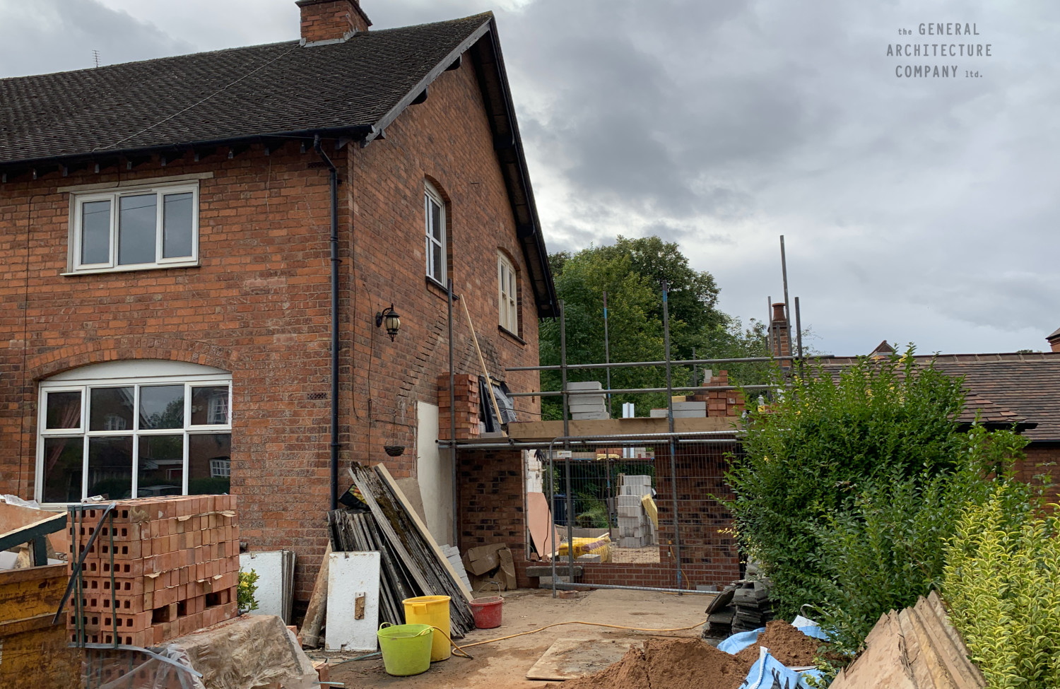 On Site In The Bournville Conservation Area…