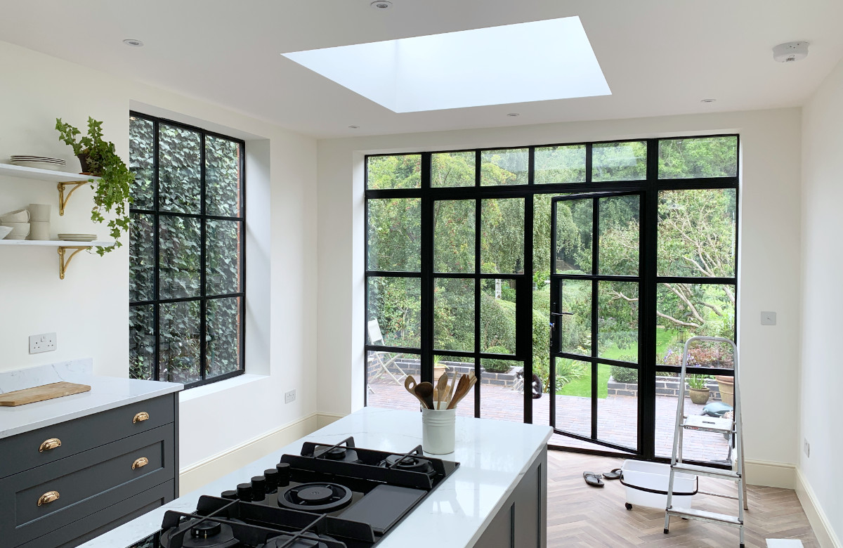 Sneak Peek! Dramatic Secret Garden Kitchen Extension